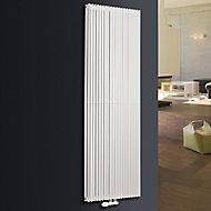 Ximax Triton Duplex Vertical Designer Radiator, White (W)600mm (H)1800mm