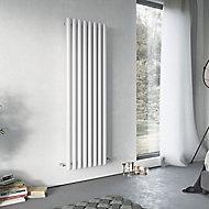 Ximax Vulkan Vertical Designer Radiator, White (W)585mm (H)1800mm