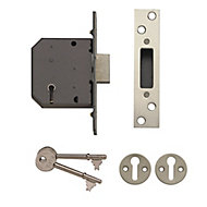 Yale P-M552-CH-65 64mm Polished Metal 5 lever Deadlock