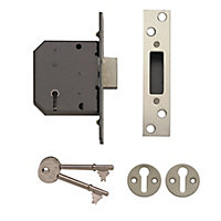 Yale P-M552-CH-78 76mm Polished Metal 5 lever Deadlock