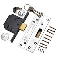 Yale P-M562-CH-67 64mm Polished Metal 5 lever Deadlock