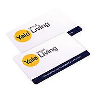 Yale P-YD-01-CON-RFIDC Intruder alarm tag, Pack of 2