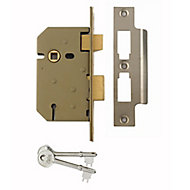 Yale PM3202.5IN 64mm Chrome effect Metal 3 lever Sashlock