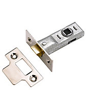 Yale Polished Chrome effect Tubular Mortice latch (L)170mm