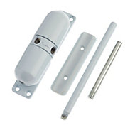 Yale White Surface-mounted Door closer