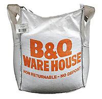 YELLOW BUILDING SND NO RETURN BULK BAG