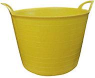 Yellow Plastic 40L Flexi tub