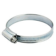 Zinc-plated Steel Hose clip, Pack of 2