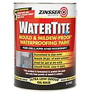 Zinsser Watertite White Waterproofing paint, 5L