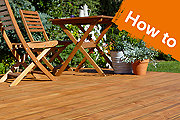 How to build a basic, ground-level deck