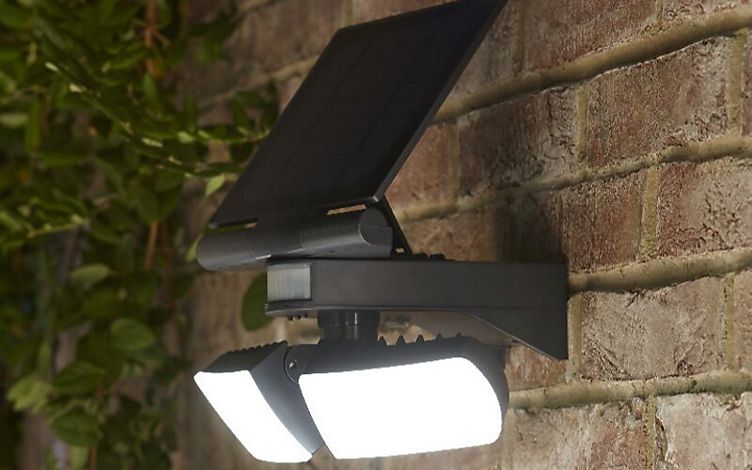 How to install a solar powered light