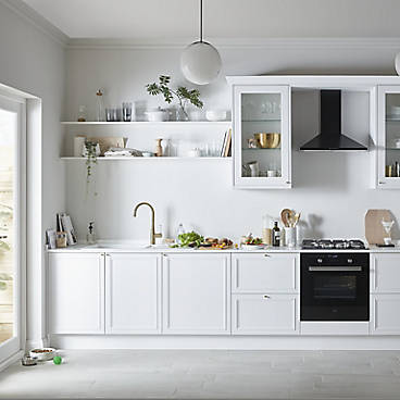 Verbena Cashmere Painted Natural Ash Shaker kitchen