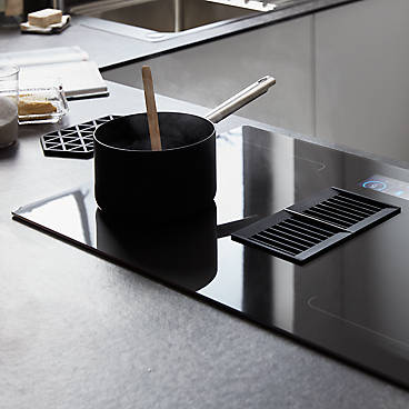 GoodHome Combination Induction Hob with extractor fan