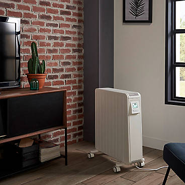 GoodHome Electric 2000W White Oil filled radiator