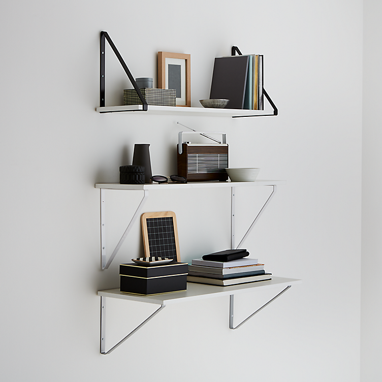 How to put up a fixed shelf