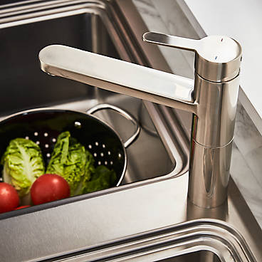 b&q kitchen sink and tap