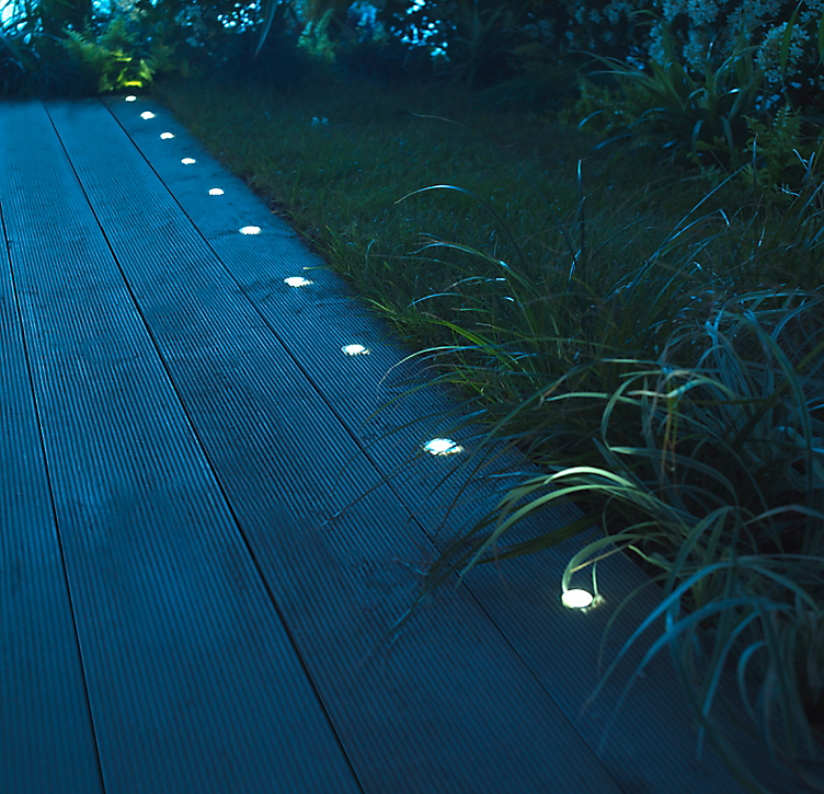 decking lights from B&Q