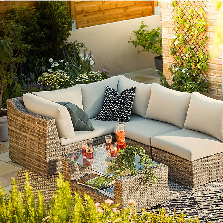 Garden seating from B&Q