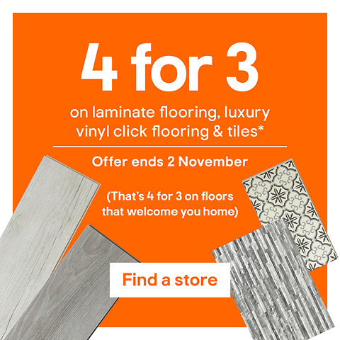 4 for 3 on flooring