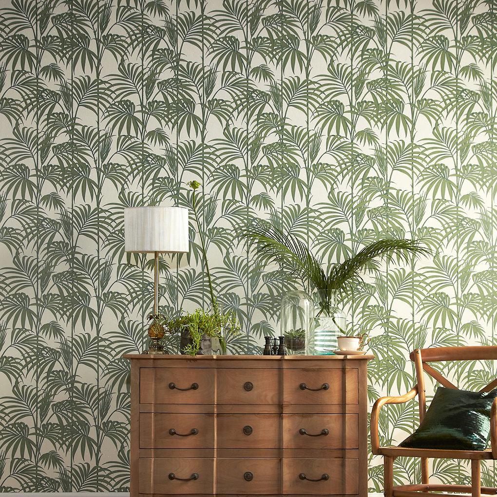 Superfesco african patterned wallpaper