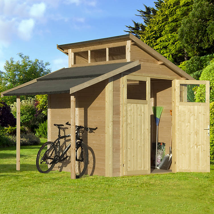 Sheds from B&Q