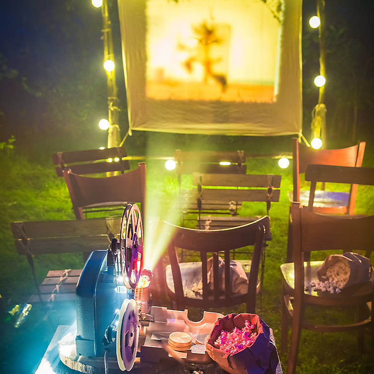 Home cinema, date night ideas