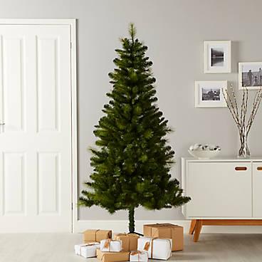 Real Christmas Trees Decorated.Christmas Trees Christmas Diy At B Q