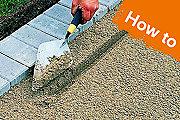 How to lay paving blocks, gravel & asphalt