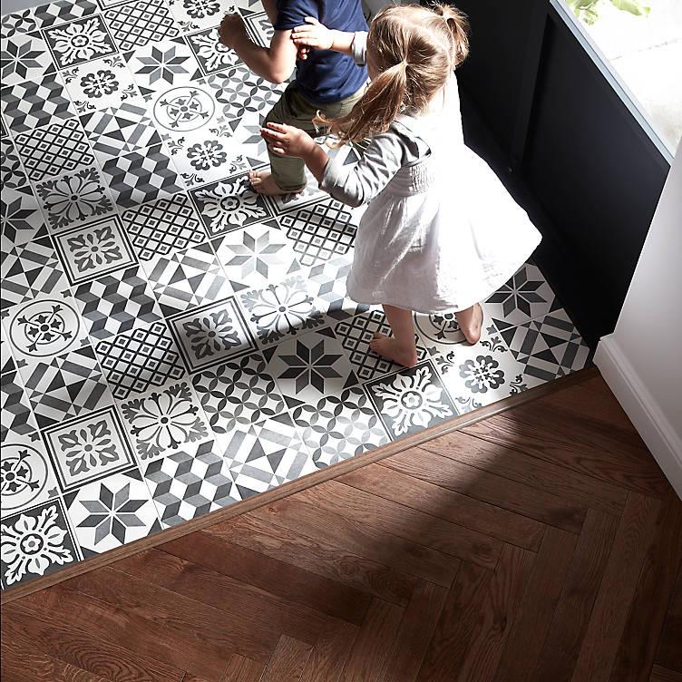 Konkrete Grey Matt Porcelain Floor tile