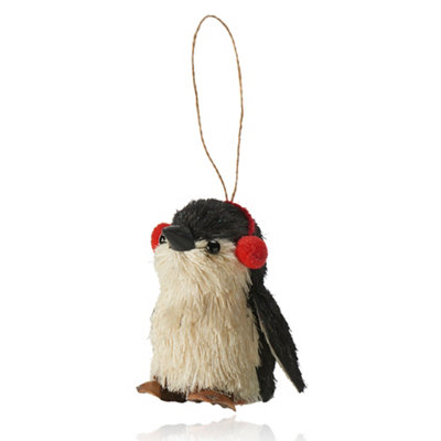 Penguin Christmas tree hanging decoration
