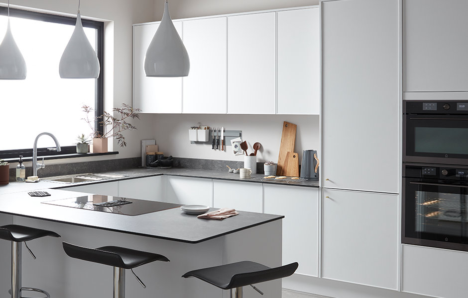 GoodHome Fitted Kitchens Pasilla White