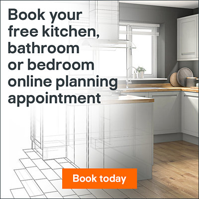 Book your free kitchens, bathroom or bedroom planning appointment