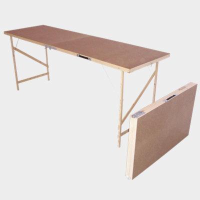 B&Q foldable pasting table, (L)1780mm (W)560mm (H)740mm