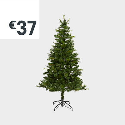 6ft Eiger natural looking artificial Christmas tree