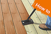 How to paint, stain or oil your decking