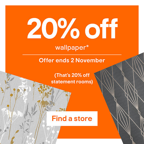 20% off wallpaper