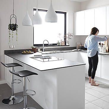 IT Santini white gloss kitchen