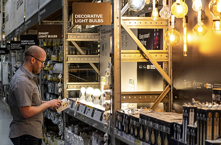 Choosing the right type of light bulbs