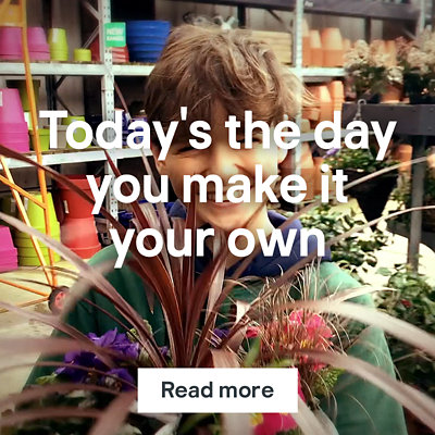 Today's the day you make it your own