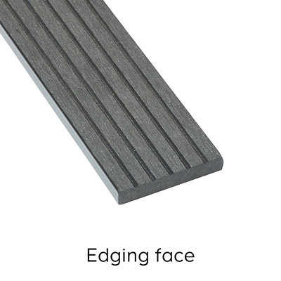 Ebony Composite Deckboard image 4 Edging Face