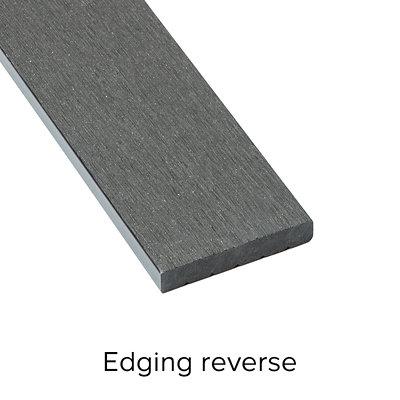Ebony Composite Deckboard image 5 Edging Reverse