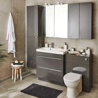 Bathroom Furniture Cabinets Bathroom Storage Vanities Units