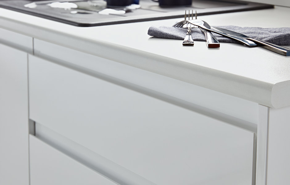thumbnail: Garcinia gloss white with integrated handle