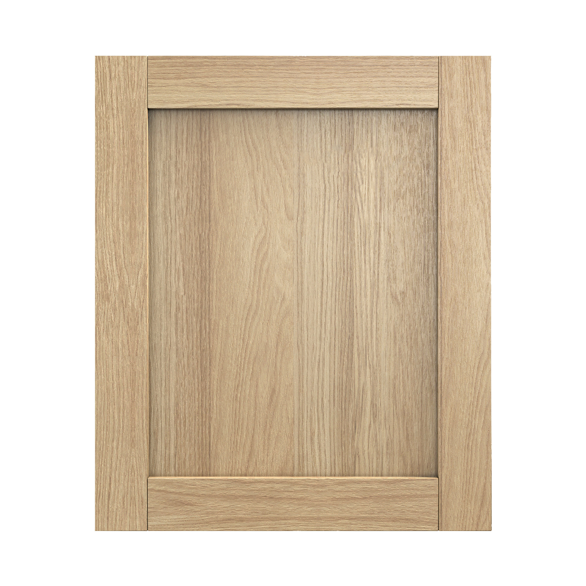 verbena oak shaker door