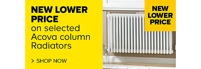 New Lower Prices on Acova column radiators