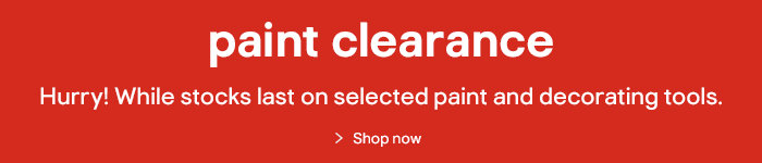 Paint Clearance Now On